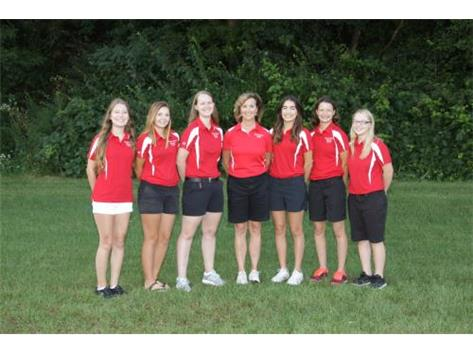 2016-2017 Girls Golf Team