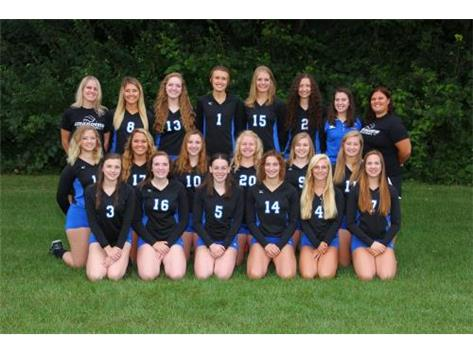 2016-2017 Varsity Volleyball Team
