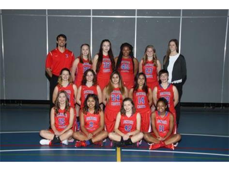 2016-2017 JV Girls Basketball Team