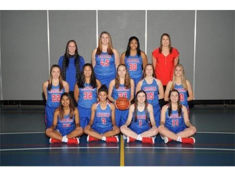 2017-2018 Varsity Girls Basketball Team