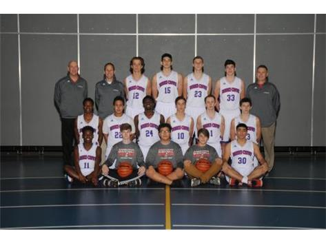 2017-2018 Varsity Boys Basketball Team