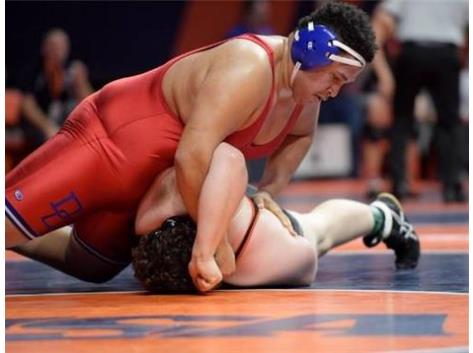 Isiah Ziegler at the IHSA State Tournament