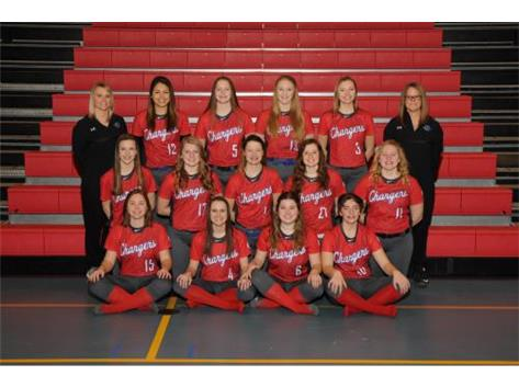 2018 Varsity Softball Team