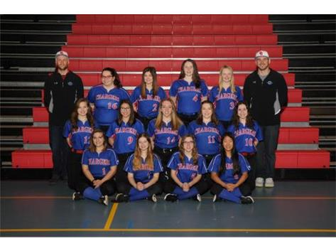 2018 JV Softball Team