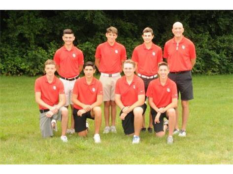 2018 Varsity Boys Golf Team