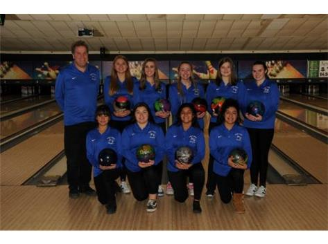 2018-2019 Girls Bowling Team