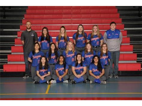 2019 JV Softball Team