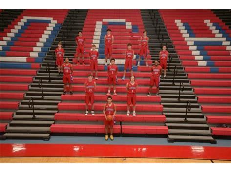 2021 JV Boys Basketball Team
