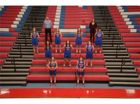 2021 Varsity Girls Basketball Team