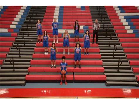 2021 JV Girls Basketball Team