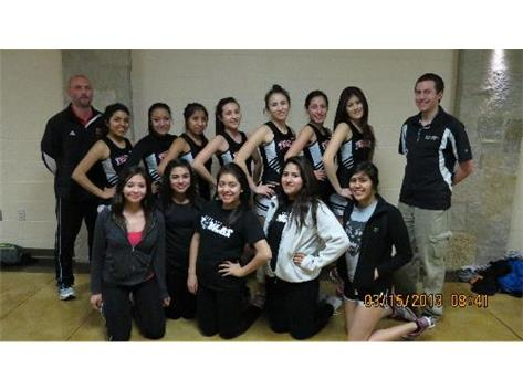 2013 UEC Girls Varsity Indoor Conference Championships