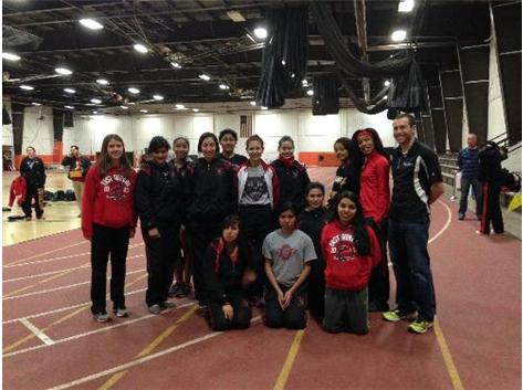 2014 UEC Girls JV Indoor Conference Championships