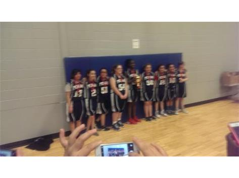 Congratulations to the magnet 8th grade girls basketball team. Great season on going 12-1
