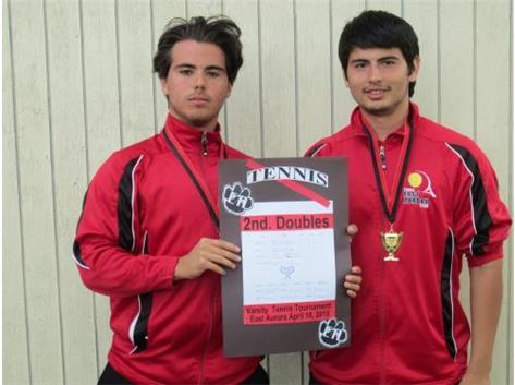 Martin Martinez & Humberto Martinez 1st. place-2nd. doulbes