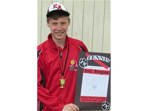 John Matt Zinzer earns 1st. place at Tomcat Tournament