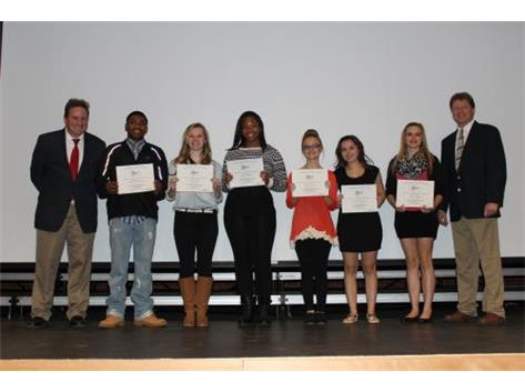 Central State 8 Scholar Athletes Cheerleading 2014-15