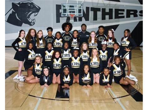 Eisenhower Cheerleading 2016-17