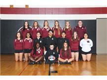 2017 Girls Varsity Volleyball Team