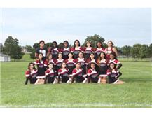2017 Fall Cheer Team