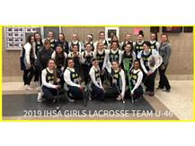 2019 U46 Girls Lacrosse Team