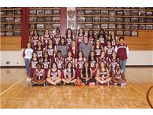 2019-2020 Girls JV Basketball Team