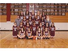 2019-2020 Girls Fr A/B Basketball Team