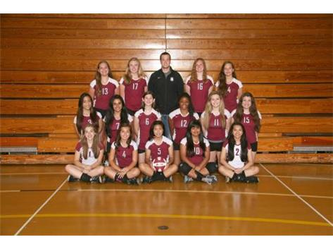 2014 Sophomore Girls Volleyball Team