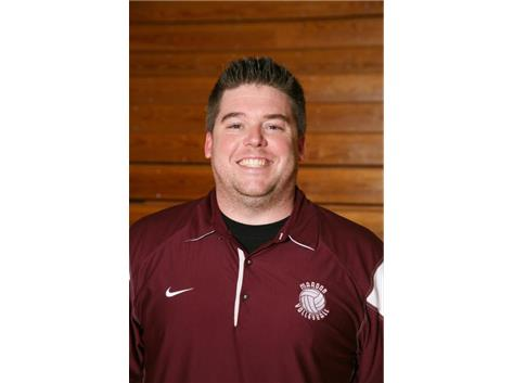 Coach Scott Stewart-Head Girls Volleyball Coach