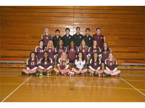 2014 Varsity Girls Volleyball Team