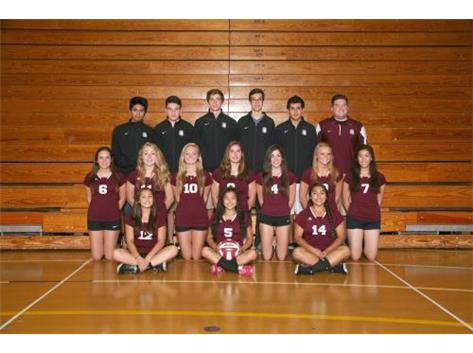 2014 JV Girls Volleyball Team