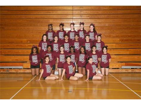 2014 Varsity Cheer Team