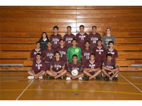 2014 Boys JV Soccer Team