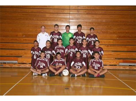 2014 JV2 Boys Soccer Team