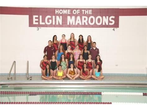 2014 Girls Swim Team
