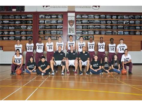 2014-2015 Boys Varsity Basketball