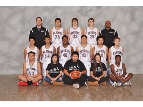 2014-2015 Sophomore Boys Basketball Team