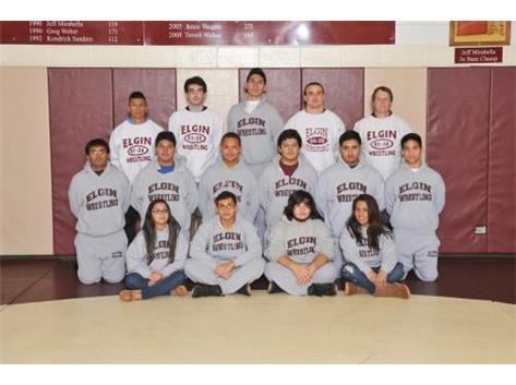 2014-2015 Freshmen Wrestling Team
