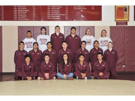 2014-2015 Varsity Wrestling Team