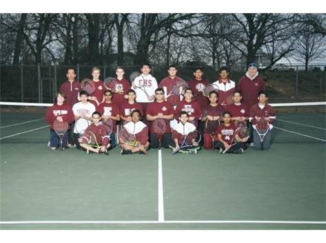2015 Varsity Boys Tennis Team