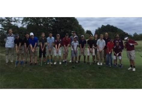 2015 Boys Golf Team