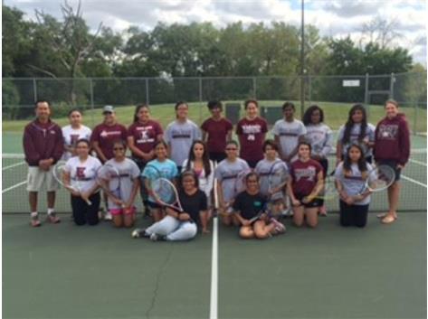 2015 Girls JV Tennis Team
