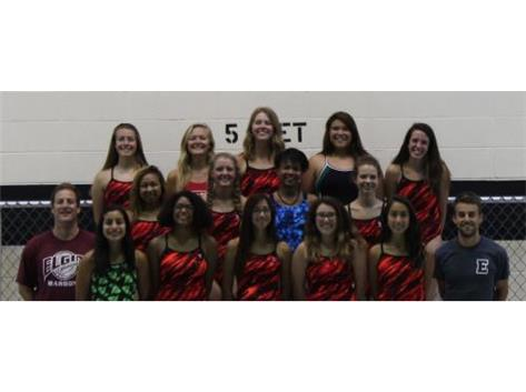 2015 Girls Swim Team
