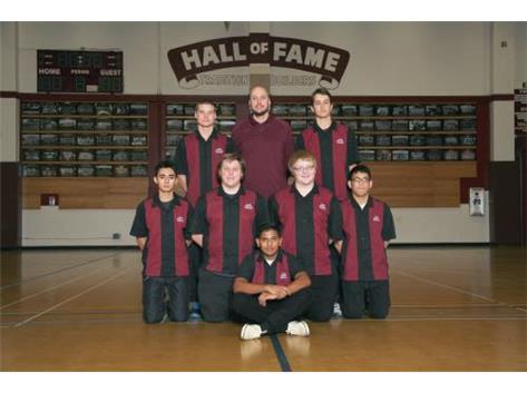 2015-2016 Boys Varsity Bowling Team