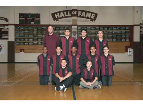 2015-2016 Boys JV Bowling Team