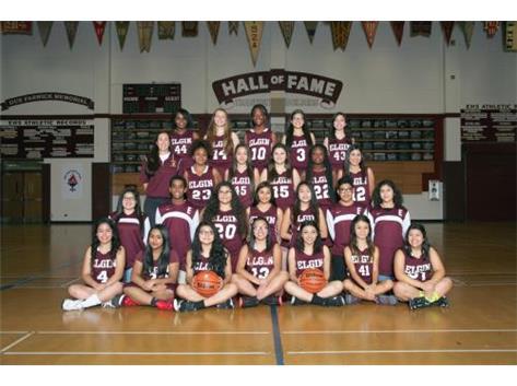 2015-2016 Girls Sophomore Basketball Team