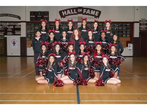 2015-2016 Varsity Cheer