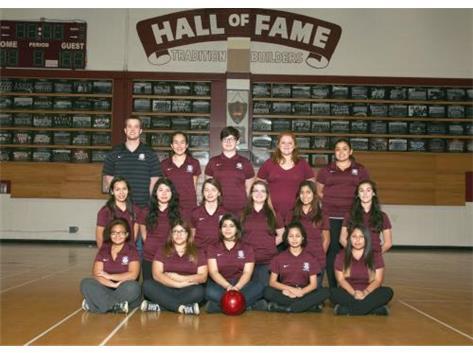 2015-2016 Girls Bowling Team