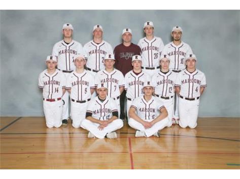 2016 Varsity Baseball Team