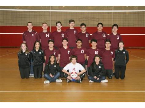 2016 Boys JV Volleyball Team