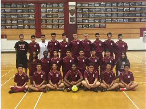 2016 Boys JV Soccer Team